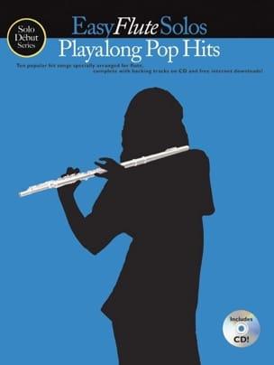 Easy Flute Solos Playalong Pop Hits Partition laflutedepan