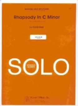 Rhapsody In C Minor David Uber Partition Tuba - laflutedepan