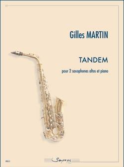 Tandem Gilles Martin Partition Saxophone - laflutedepan