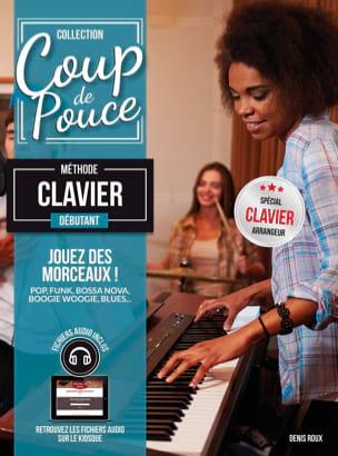 Méthode Clavier Débutant COUP DE POUCE Partition Piano - laflutedepan