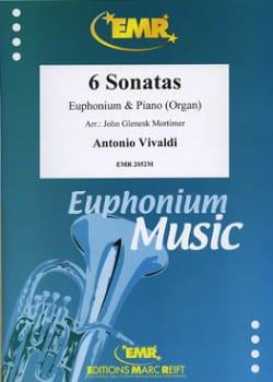 6 Sonates VIVALDI Partition Tuba - laflutedepan