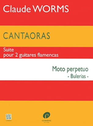Cantaoras - Moto perpetuo Bulerias - Claude Worms - laflutedepan.com