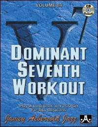 Volume 84 - Dominant Seventh Workout METHODE AEBERSOLD laflutedepan