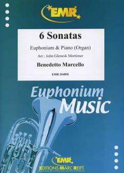 6 Sonates Benedetto Marcello Partition Tuba - laflutedepan