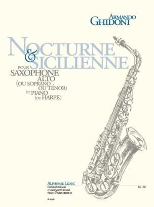 Nocturne & Sicilienne Armando Ghidoni Partition laflutedepan