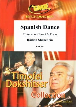 Spanish Dance Rodion Shchedrin Partition Trompette - laflutedepan