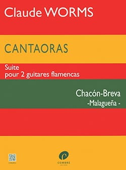 Cantaoras - Chacon-Breva Malaguena Claude Worms Partition laflutedepan