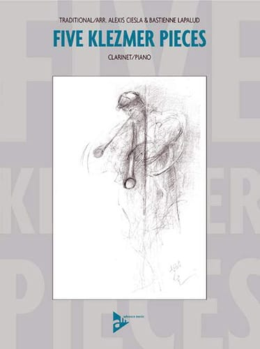 Five Klezmer Pieces - Traditionnel - Partition - laflutedepan.com