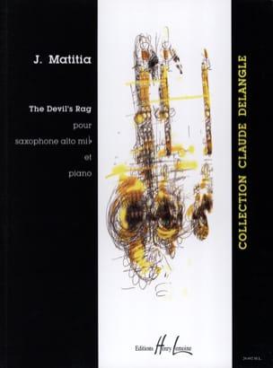 The Devil's Rag Jean Matitia Partition Saxophone - laflutedepan