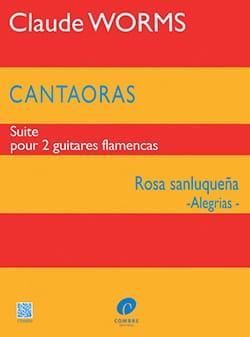 Cantaoras - Rosa sanluquena Alegrias Claude Worms laflutedepan