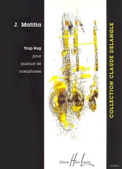 Trap Rag Jean Matitia Partition Saxophone - laflutedepan