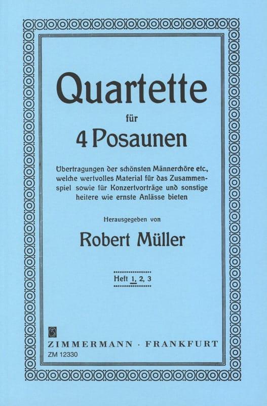 Quartette Volume 1 - Robert Müller - Partition - laflutedepan.com