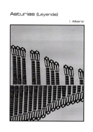 Asturias Leyenda - ALBENIZ - Partition - Marimba - laflutedepan.com