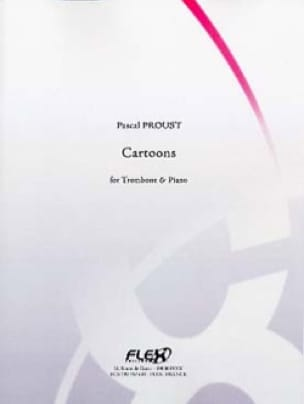 Cartoons - Pascal Proust - Partition - Trombone - laflutedepan.com