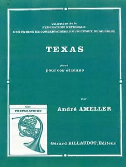 Texas André Ameller Partition Cor - laflutedepan