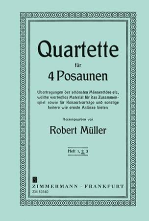 Robert Müller - Cuarteto, volumen 2 - Partition - di-arezzo.es