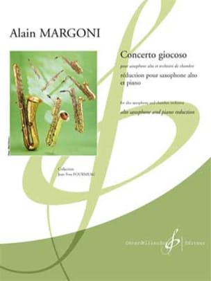 Concerto Giocoso - Alain Margoni - Partition - laflutedepan.com
