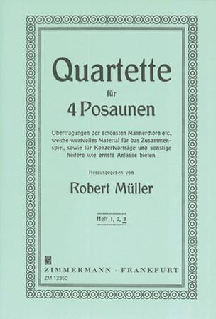 Robert Müller - Cuarteto Volumen 3 - Partition - di-arezzo.es
