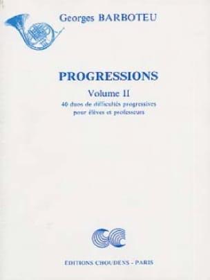 Progressions Volume 2 - Georges Barboteu - laflutedepan.com