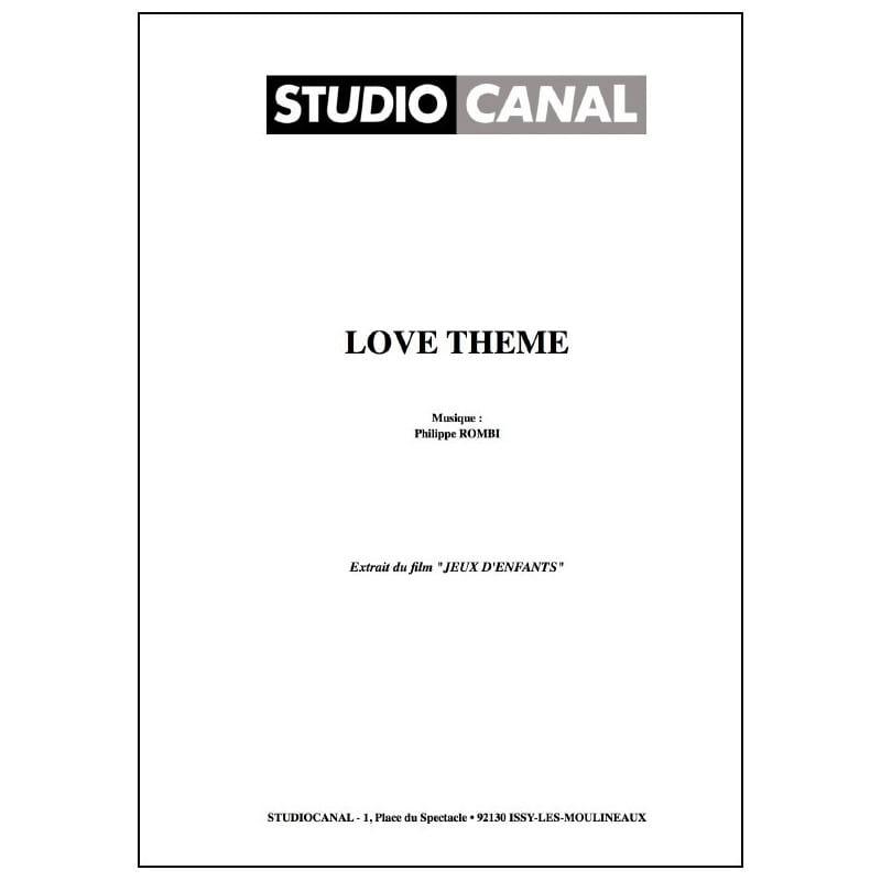 Love thème - Film Jeux d'Enfants - Philippe Rombi - laflutedepan.com