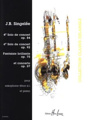 4e Solo / 6e Solo / Fantaisie Brillante / Concerto laflutedepan