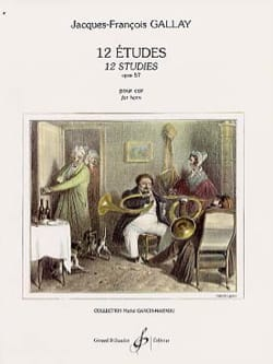 12 Etudes Opus 57 - Second Cor Jacques-François Gallay laflutedepan