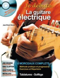 Je débute la guitare électrique Jean-Pierre Vimont laflutedepan