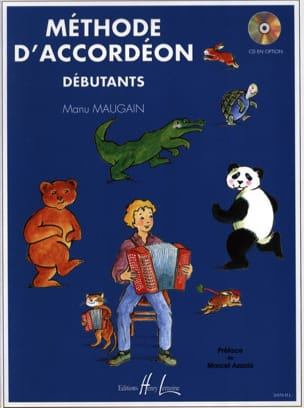 Manu Maugain - Volume 1 Accordion Method - Optional CD Beginners - Partition - di-arezzo.com