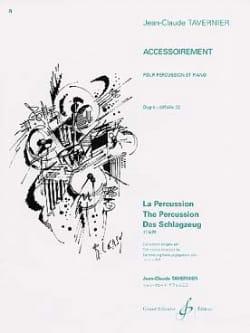Accessoirement TAVERNIER Partition Multi Percussions - laflutedepan