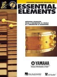 Essential Elements. Percussions Mélodiques Volume 1 laflutedepan