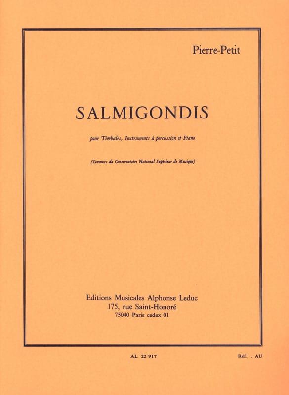 Salmigondis - Pierre Petit - Partition - laflutedepan.com