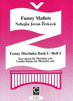 Funny Marimba Volume 1 Nebojsa jovan Zivkovic Partition laflutedepan