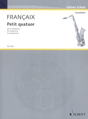 Petit Quatuor - Parties - FRANÇAIX - Partition - laflutedepan.com