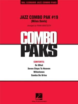 Jazz Combo Pak # 19 Miles Davis Partition ENSEMBLES - laflutedepan