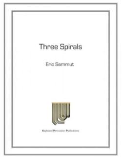 Three Spirals - Eric Sammut - Partition - Marimba - laflutedepan.com