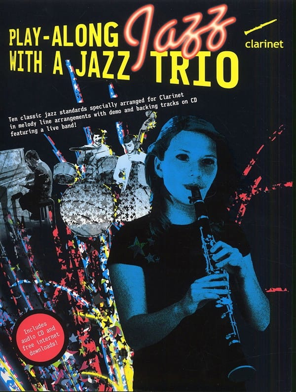 Play Along Jazz With A Jazz Trio - Partition - laflutedepan.com