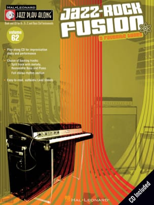 Jazz play-along volume 62 - Jazz-Rock Fusion Partition laflutedepan