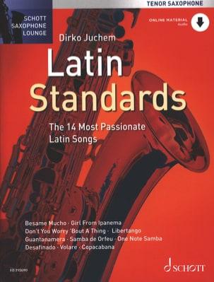 Latin standards Partition Saxophone - laflutedepan
