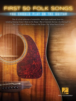 Traditionnel - Die ersten 50 Folksongs, die Sie auf der Gitarre spielen sollten - Partition - di-arezzo.de