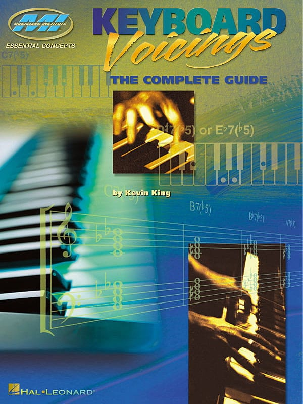Keyboard Voicings The Complete Guide - Kevin King - laflutedepan.com