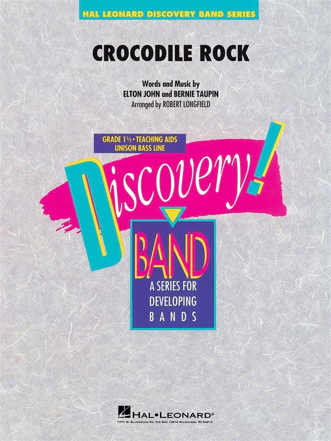 Crocodile Rock - Elton John - Partition - ENSEMBLES - laflutedepan.com