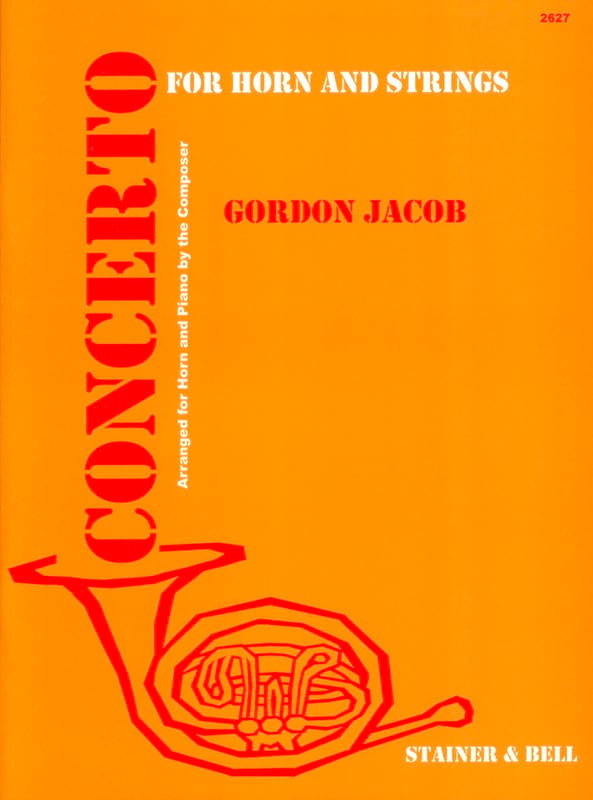 Concerto - Gordon Jacob - Partition - Cor - laflutedepan.com