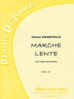 Marche lente Thierry Deleruyelle Partition laflutedepan