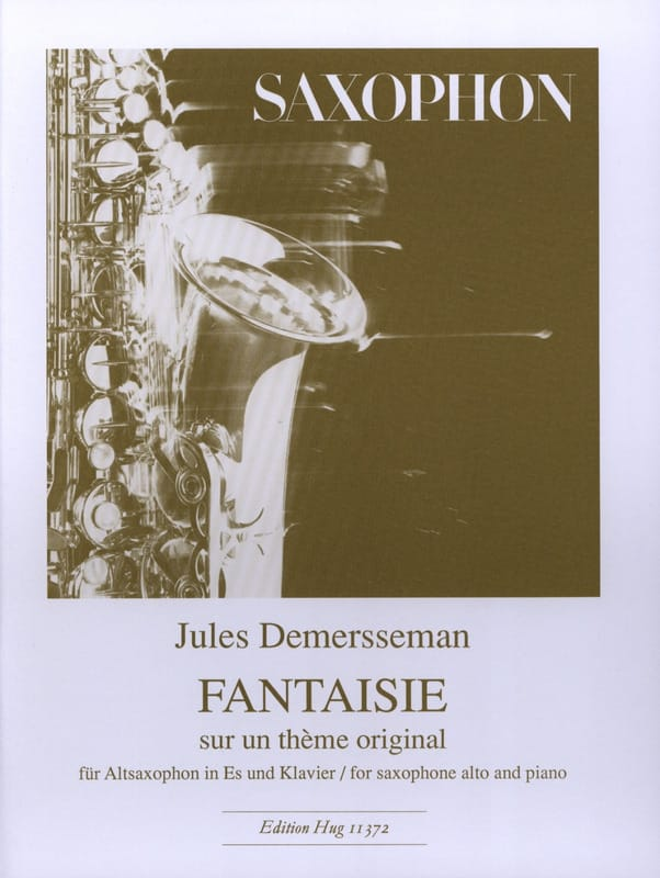 Fantaisie sur un Théme Original - Jules Demersseman - laflutedepan.com