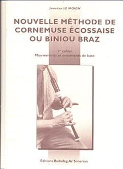 Nouvelle Méthode de Cornemuse Ecossaise ou Biniou Braz Volume 1 laflutedepan