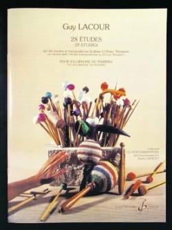 28 Etudes O. Messiaen Guy Lacour Partition Xylophone - laflutedepan