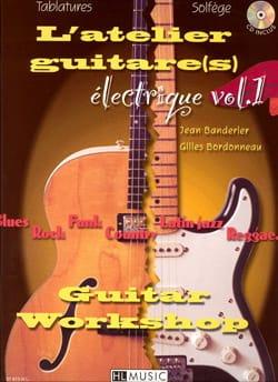 L' Atelier GuitareS Electrique Volume 1 laflutedepan