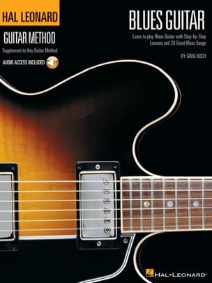 Hal Leonard Guitar Method - Blues Guitar Greg Koch laflutedepan