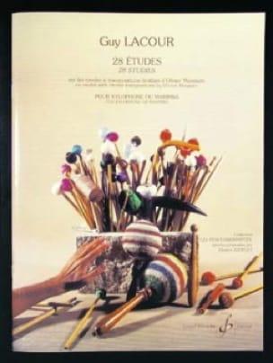 28 Etudes O. Messiaen - Guy Lacour - Partition - laflutedepan.com