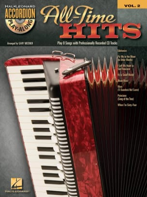 Accordion Play-Along volume 2 - All-time hits Partition laflutedepan